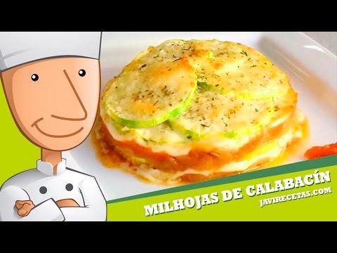 Milhojas de Calabacín