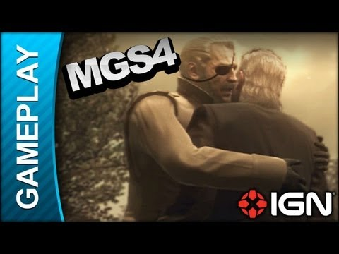 Metal Gear Solid 4 - Debriefing: Big Boss Returns - Gameplay video