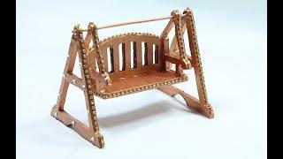 How to Make Royal Jhula (Miniature Swing) for Bal Gopal using Cardboard
