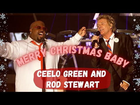 "CeeLo Green feat. Rod Stewart - ""Merry Christmas, Baby"" [Live]"