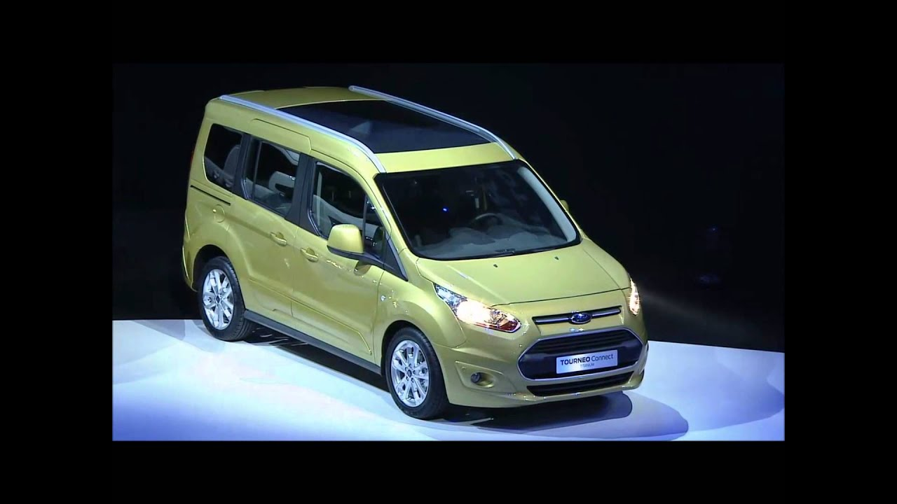 CarScoop | 2014 Ford Tourneo Courier Presentation - YouTube