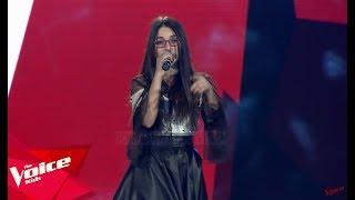 "Arjola - ""Black Widow""   Audicionet e Fshehura   The Voice Kids Albania 2019"