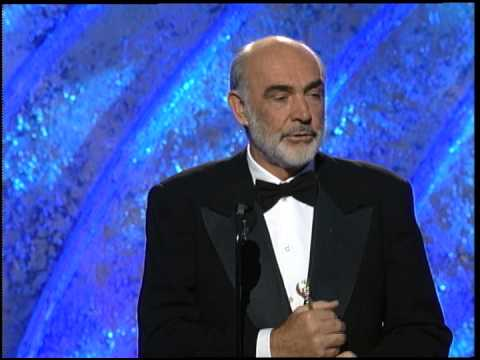 Golden Globes 1996 Sean Connery Cecil B DeMille Award