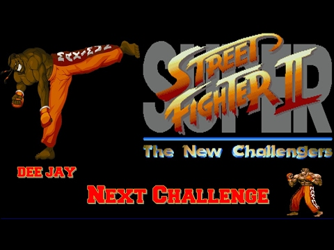 Super Street Fighter 2 The New Challengers Zerando Com O Dee Jay LV8 (HARD)