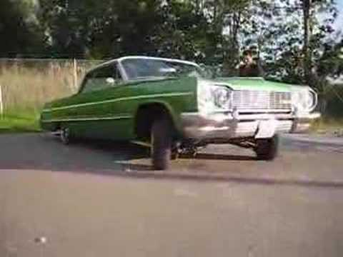 Impala 64 Lowrider Hopping 2 Video