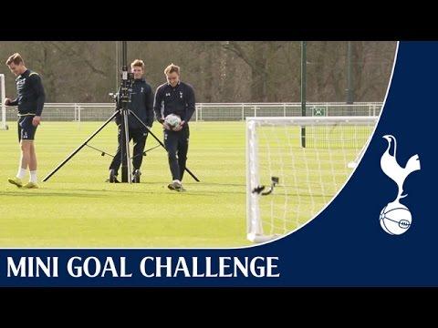 Mini Goal Challenge - Superbowl Special ft. Kane, Eriksen & Vertonghen