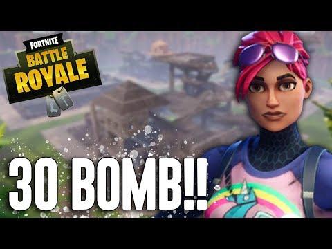 30 BOMB!!! Fortnite Battle Royale Gameplay - Ninja