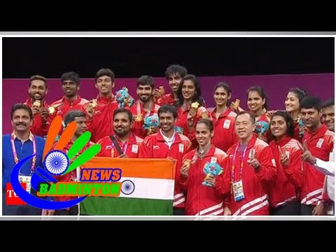 CWG 2018: Kidambi Srikanth, Saina Nehwal Headline India's First Badminton Mixed Team Gold