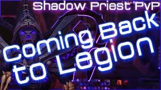 WoW Legion Shadow Priest PvP & Why I'm leaving ESO