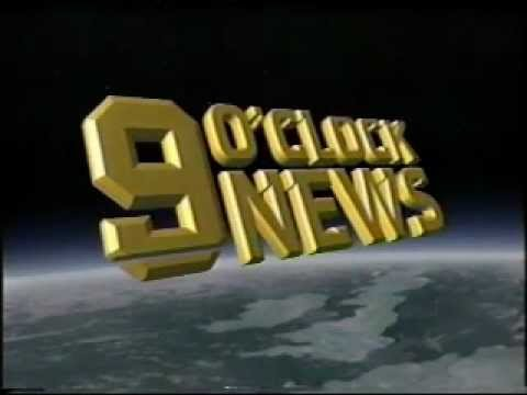 BBC 9 O'Clock News titles July 6, 1988 Piper Alpha