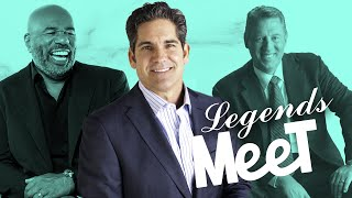 3 Legends Meet for the First Time - Grant Cardone