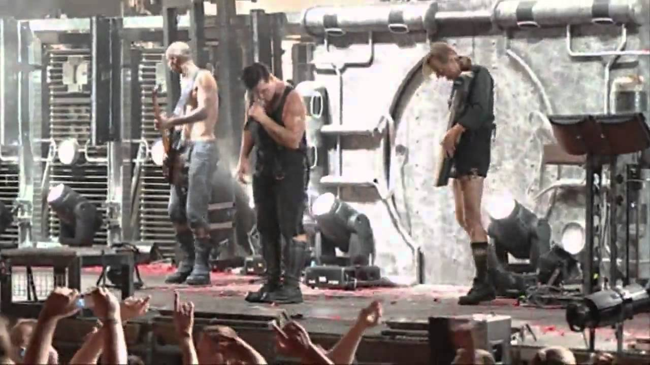 rammstein stripped cover depeche mode live volkerball nimes france 2005 youtube. Black Bedroom Furniture Sets. Home Design Ideas