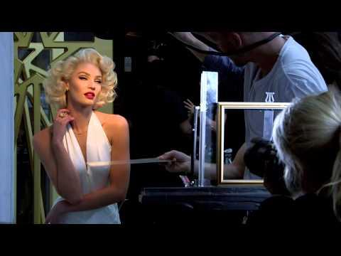 Candice Swanepoel zmienia się w Marylin Monroe!