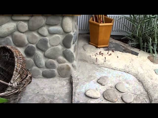 Своими руками из природного камня