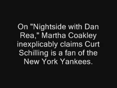 Martha Coakley: Curt Schilling Is A Yankees Fan
