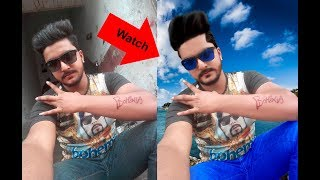 Photoshop Tutorial: How to make Hair Style !