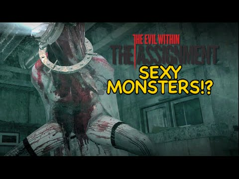 Sexy Monsters!? [the Evil Within] [dlc] [the Assignment] video