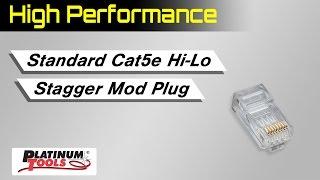 Standard CAT5e High Performance Connectors