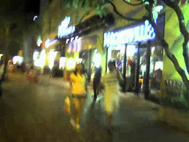 Waikiki; Kalakua Ave; Honolulu, Hawaii-Nightlife
