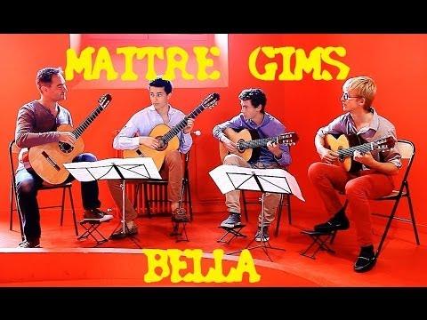 Maître Gims - Bella : Version 4 Guitares