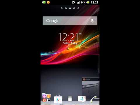 Sony Xperia™ sola Android 4.1.2 Jelly Bean Review