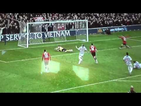 Man u 2-0 QPR Michael Carrick's goal