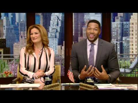 Michael Strahan Announces His Departure