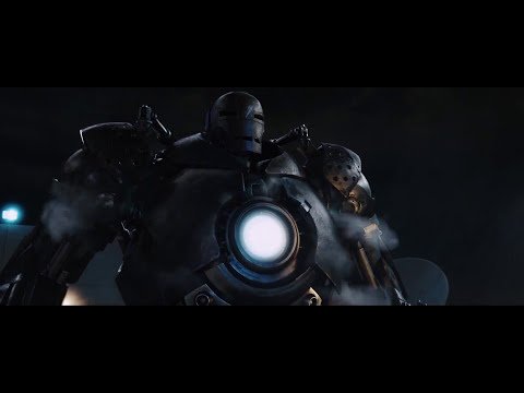 Iron Man vs.  Iron Monger - Iron Man