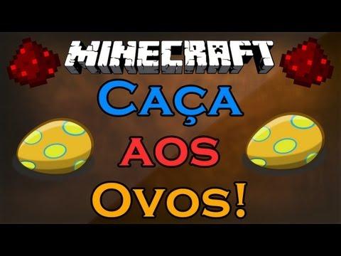 Minecraft – Caça aos Ovos (Mapa Custom) – Feliz Pascoa! :D