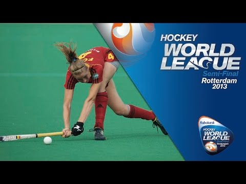 Korea vs Belgium Women's Hockey World League Rotterdam Quarter Final [18/6/13]