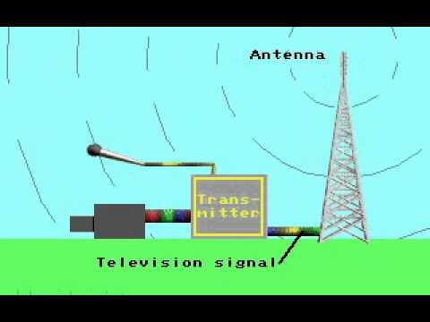 How Television broadcast works