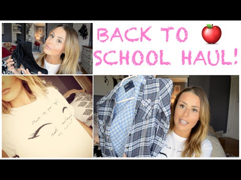 BACK TO SCHOOL CLOTHING HAUL! {ZARA, FREE PEOPLE, SAM EDELMAN & MORE!!}