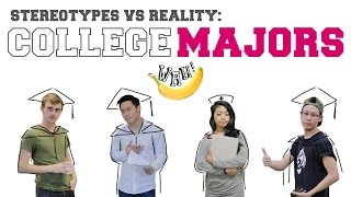 Stereotypes vs Reality: College Majors