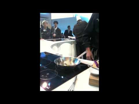 Una ricetta di Alessandro Borghese cucinata con i piani induzione Siemens (prima parte)