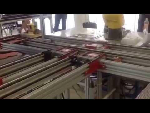 Wall-E proyectó celda de manufactura