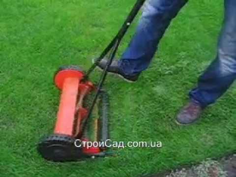 Как сделать механическую газонокосилку своими руками 115