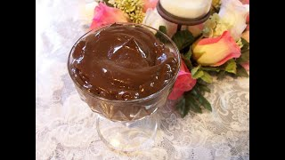 Cancer Buster Pudding/Vegan/Gluten-Free/Fat-Free/Egg-Free/Cholesterol-Free/High in Antioxidant/Yummy