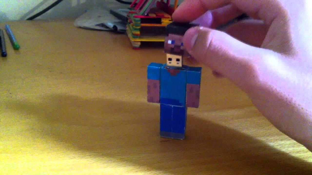 Minecraft Papercraft Steve Maxresdefault.jpg
