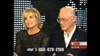 Dallas   Larry Hagman and Linda Gray on Larry King CNN Part 1