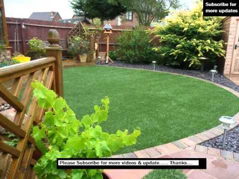 Artificial Grass Garden Designs | Photos Of Artificial Lawns In Gardens