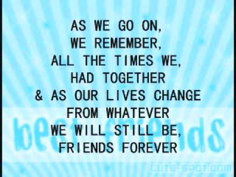 Michael W. Smith – Friends Are Friends Forever Lyrics ...