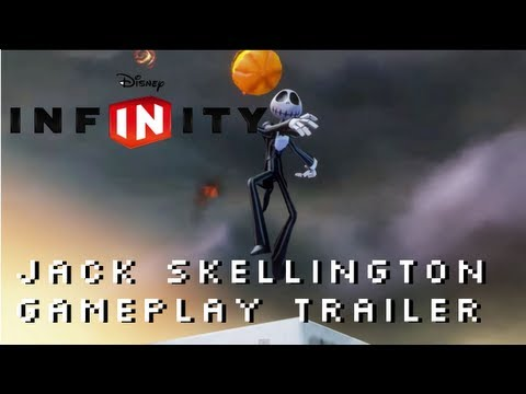 Disney Infinity Jack Skellington Gameplay Trailer 1080P The Nightmare Before Christmas