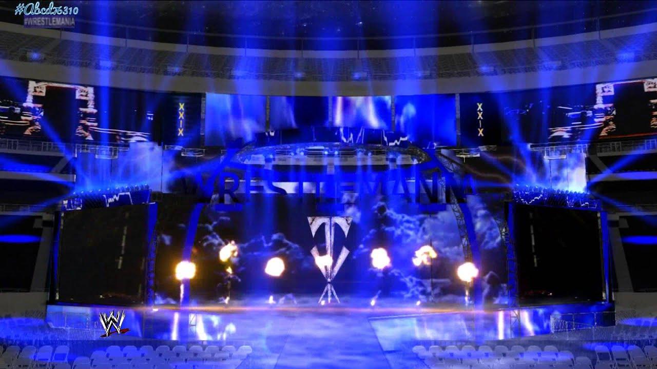 Undertaker Entrance Wallpaper The Undertaker Wrestlemania 29