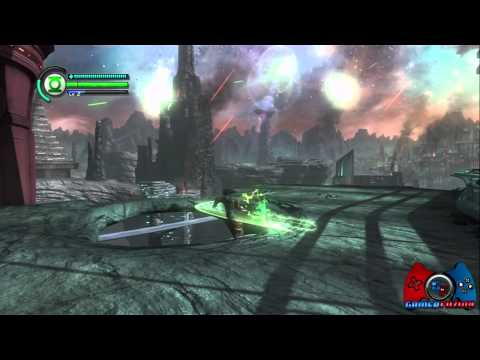 Green Lantern Rise of the Manhunters Walkthrough Part 2 (XBOX 360, PS3, 3DS, WII, DS)