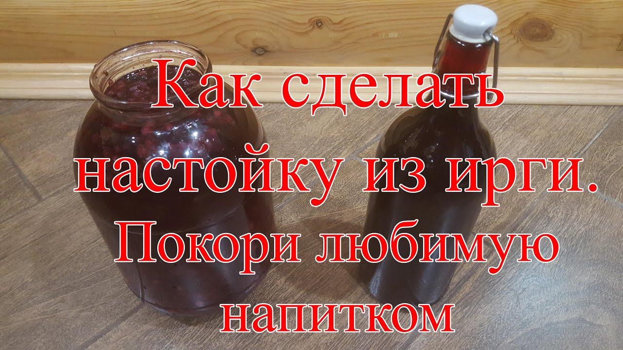 Рецепт домашнее вино из ирги в домашних условиях