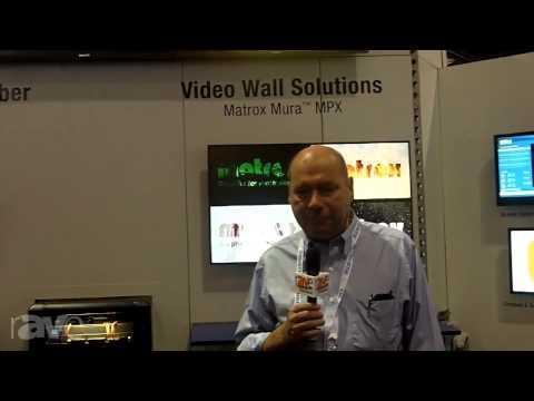 InfoComm 2013: Matrox Shows Off its Mura Video Wall Solution