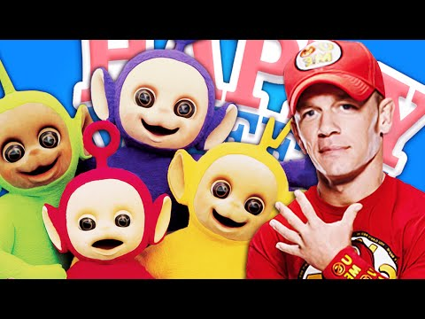 Slendytubbies Vs John Cena! - Happy Wheels: Mapas Dos Inscritos! #2 video