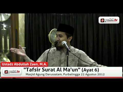Tanya Jawab: Pemicu Timbulnya Penyakit Riya - Abdullah Zaen