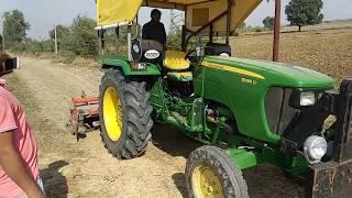 John deere 5036 D tractor average in rotavator