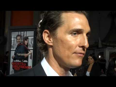 The Dish Rag: Matthew McConaughey at Ghosts of Girlfriends Past